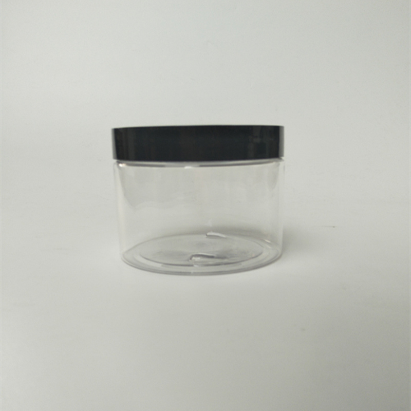 350ml Clear Plastic PET Jar Wide Mouth Jar