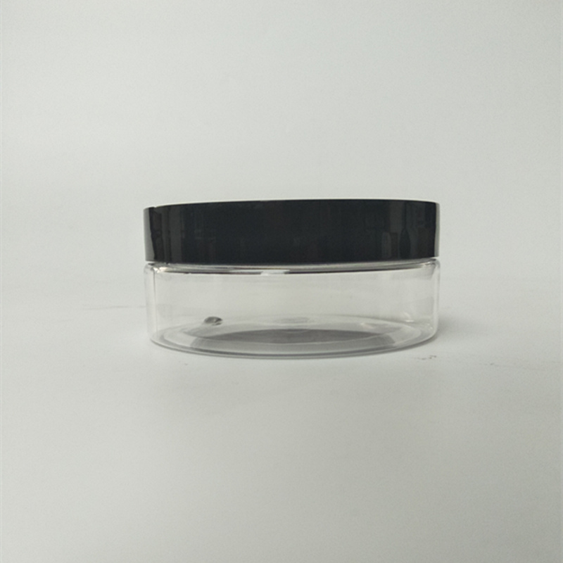 150ml 5oz Plastic PET Jar Wide Mouth Jar with Lides