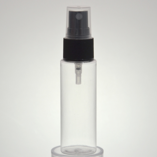 30ml empty cylinder round pet bottle