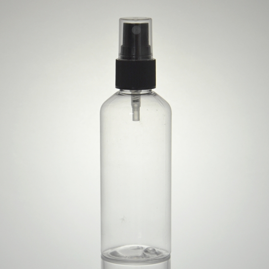 clear cylinder bottles - 3.4 oz